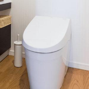水漏れをキッカケに最新のトイレへ
